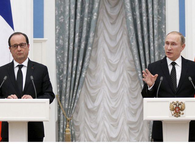 La Russie et La France prête à collaborer contre l'EI