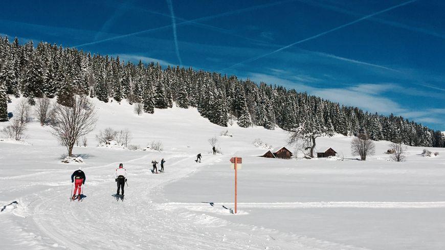 Les accors du ski de fond ont rechaussé à La Clusaz.