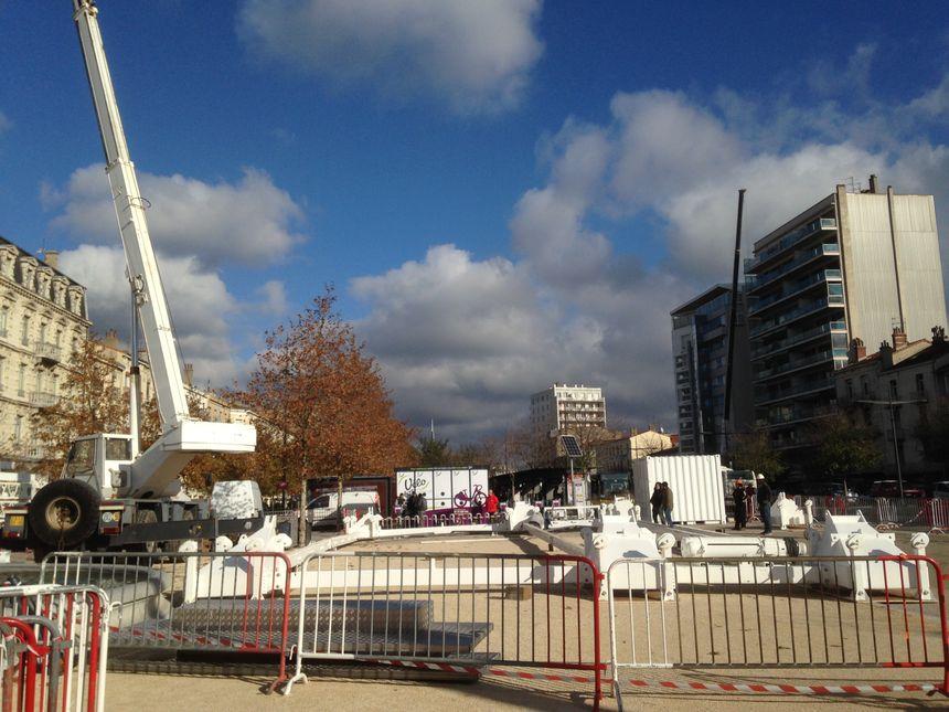 La grande roue de Valence fera 35 mètres pour 65 tonnes !