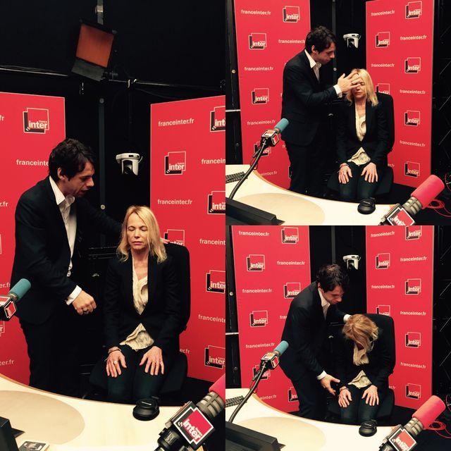 Cyrille Arnaud et Laure Adler