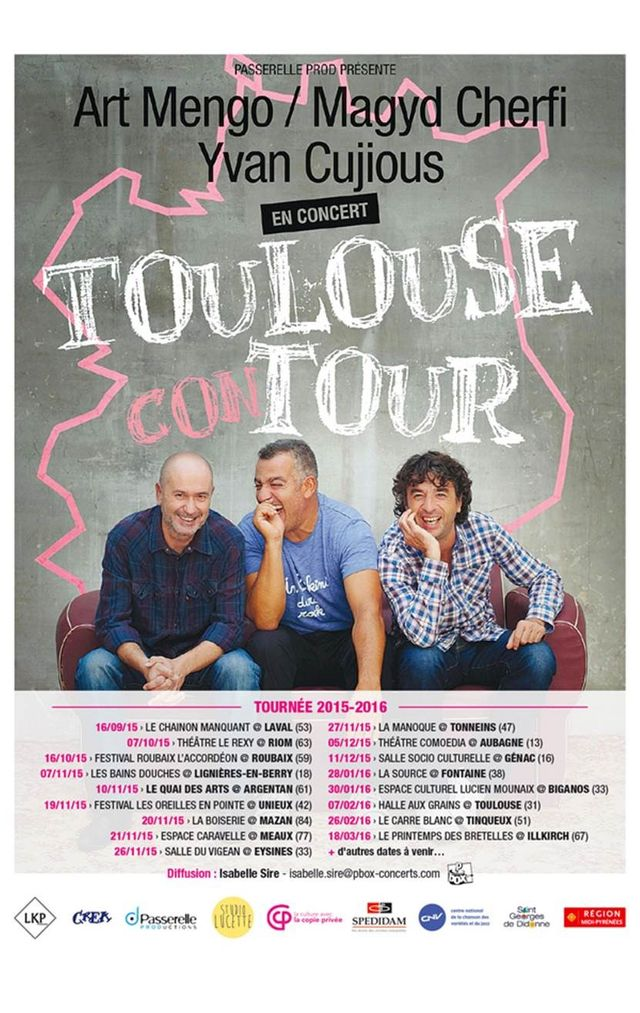 Toulouse con tour