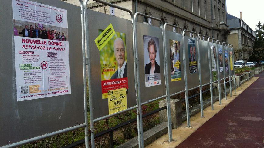 Il y a 10 listes aux élections régionales en Auitaine-Limousin-Poitou Charentes
