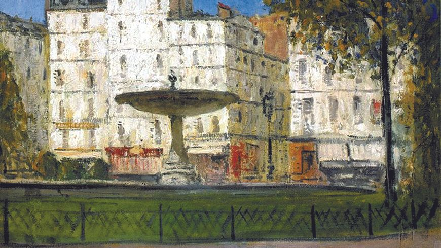 La place Pigalle, vers 1910