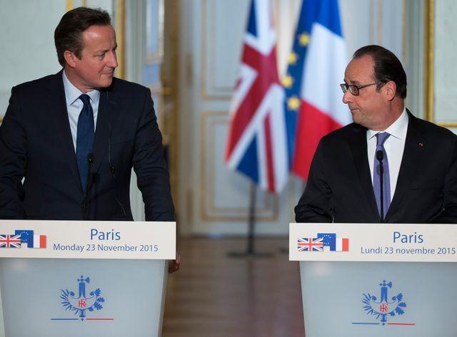 François Hollande et David Cameron se sont rencontré lundi