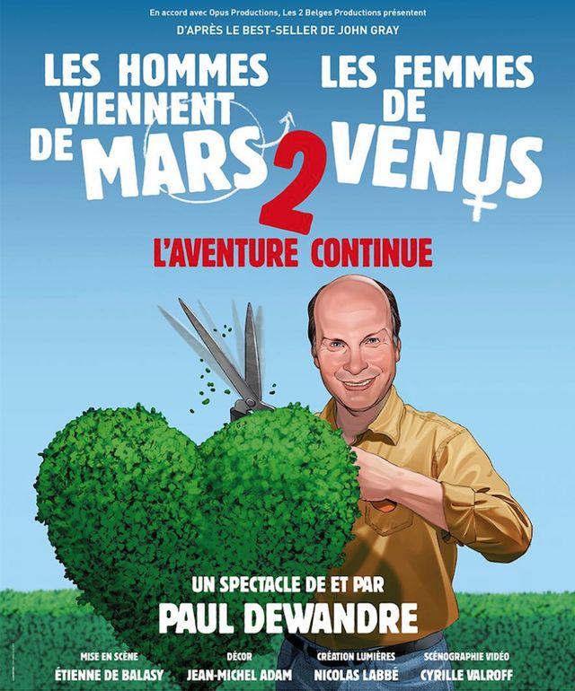 Les hommes viennent de Mars les femmes de Vénus 2