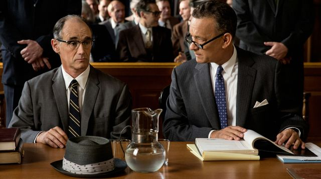 Mark Rylance et Tom Hanks
