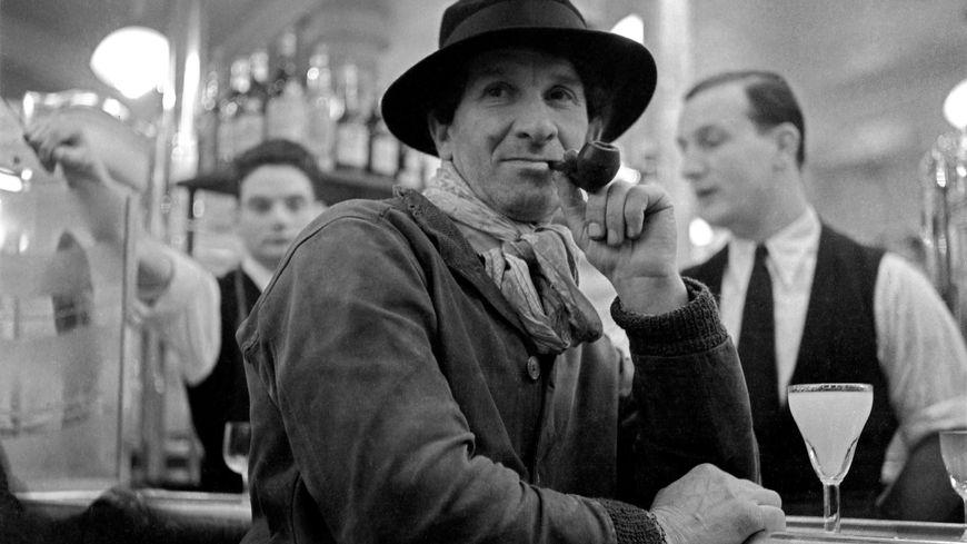 Samuel Granowski au bar de la rotonde