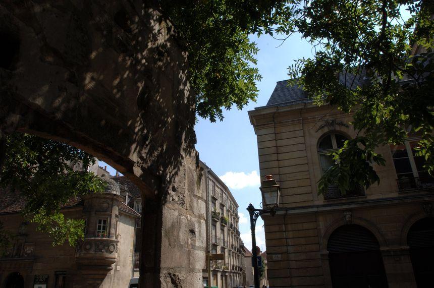 Le centre ville de Dijon.
