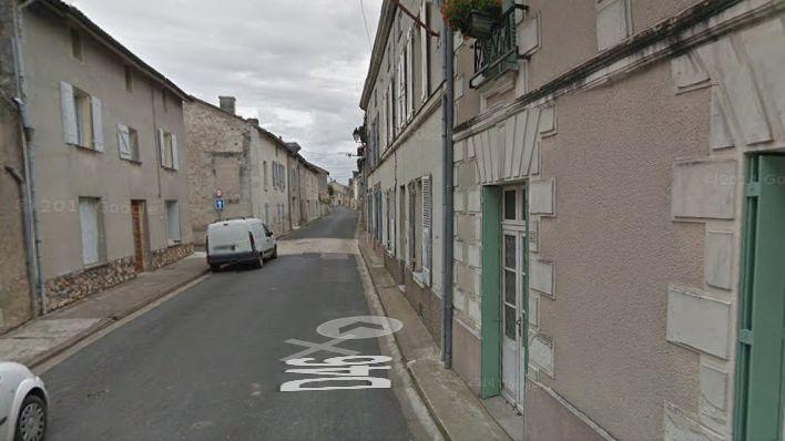La rue Saint-Avertin où l'incendie a eu lieu.