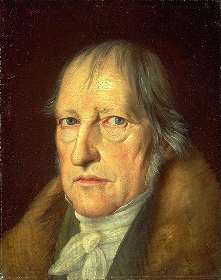 Portrait de Hegel par Schlesinger