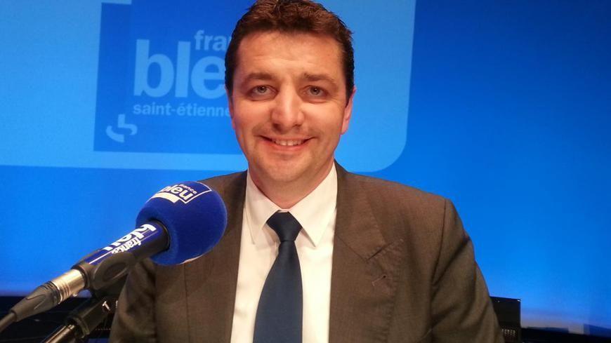 Gaël Perdriau, le maire de Saint-Étienne