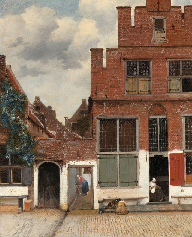 """""""La Ruelle"""", de Jan Vermeer"""