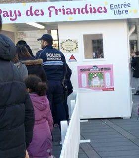 Les policiers présents square De Gaulle