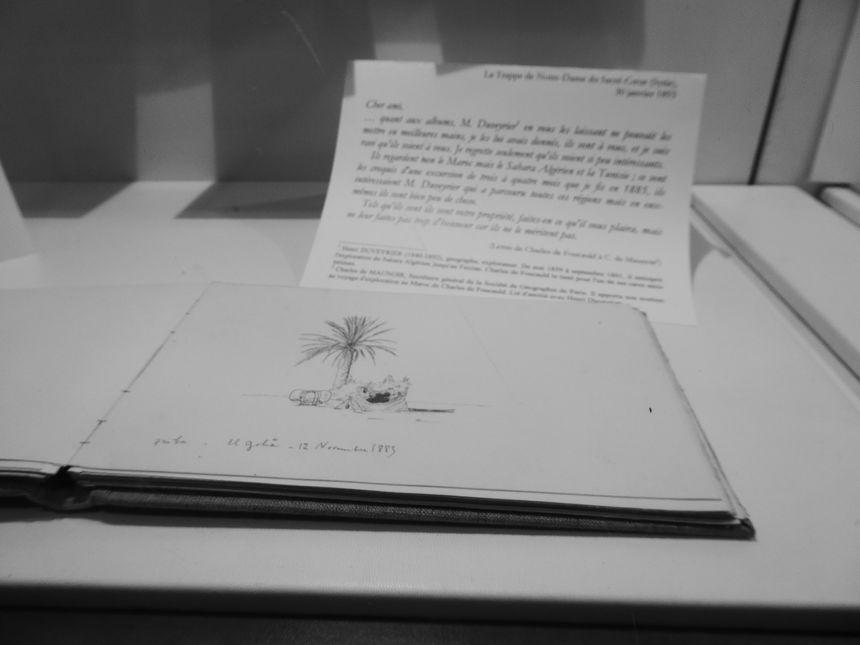 Le désert sur les carnets et les dessins de Charles de Foucauld,à Viviers