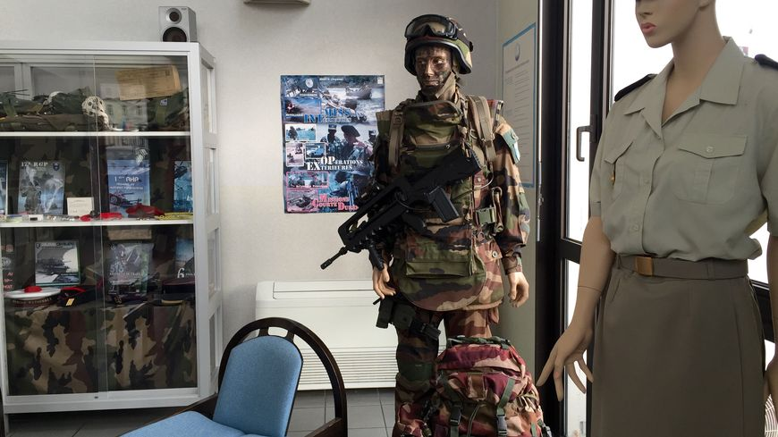 L'armée accueille les candidats au CIRFA de Mont-de-Marsan