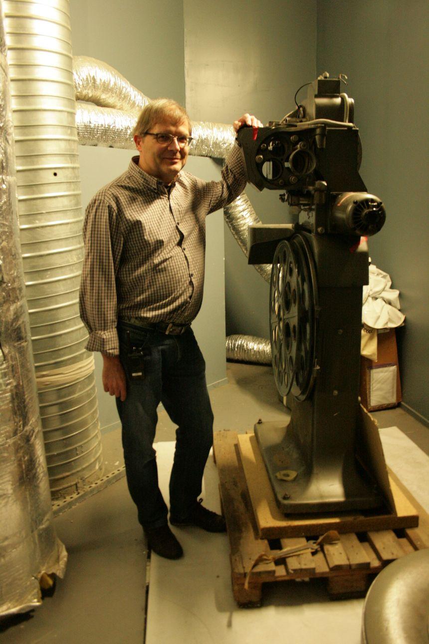 Bernard Heller, et son petit bijou de cinéma...!