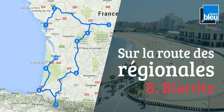 Biarritz bénéficie d'une réputation internationale.