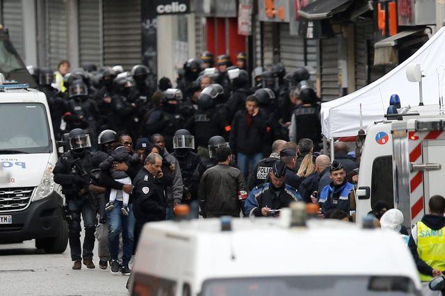 Opération du raid à Saint Denis