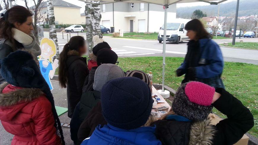 Les enfants des écoles de Fameck sensibilisés à la réduction des déchets.