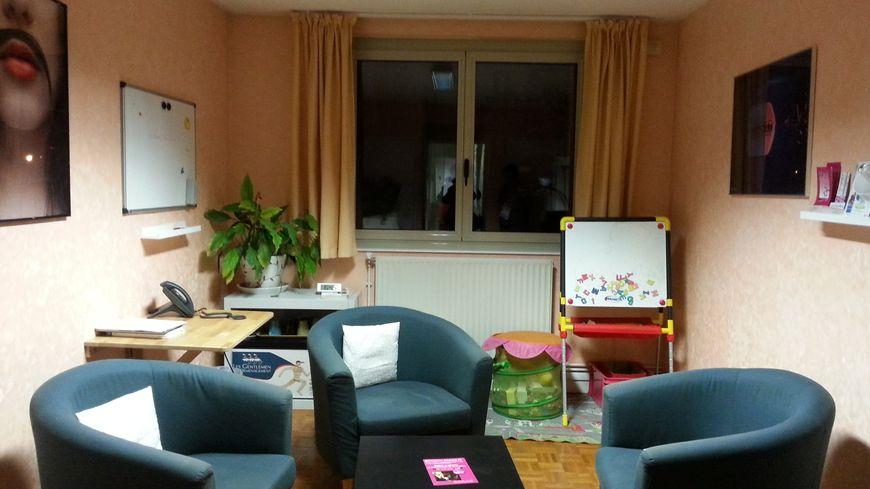 Les locaux accueillants de Solidarité Femmes à Dijon