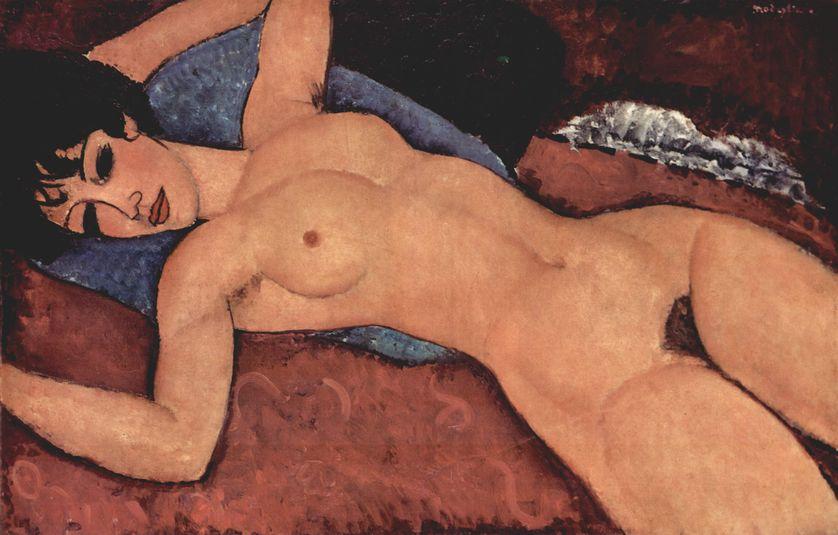 """""""Nu couché"""", de Modigliani"""