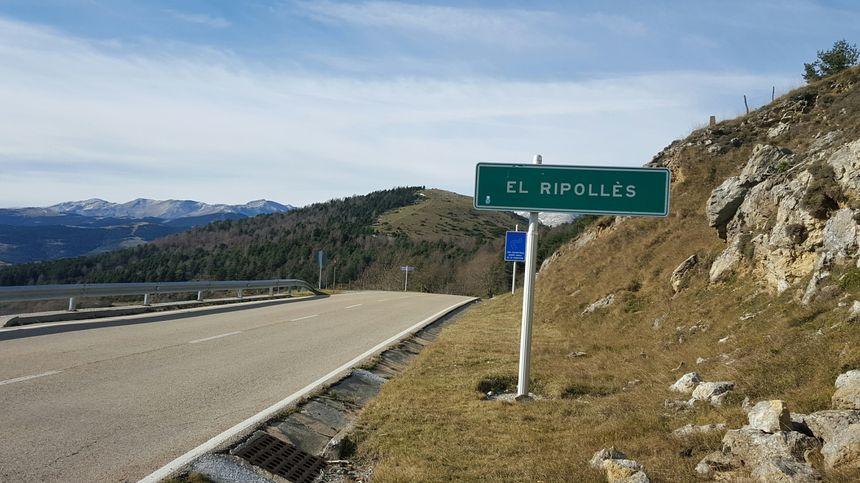 Le col d'Ares permet d'accéder à la région de Ripoll coté espagnol