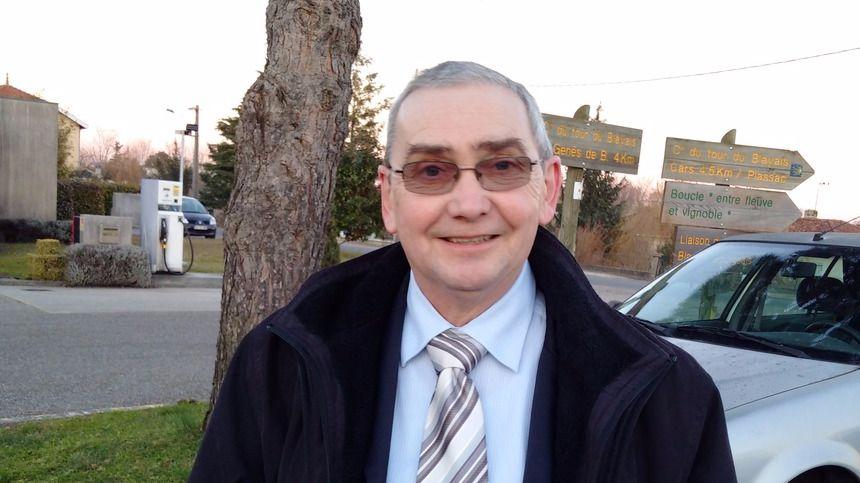 Pierre Dinet, candidat FN aux régionales