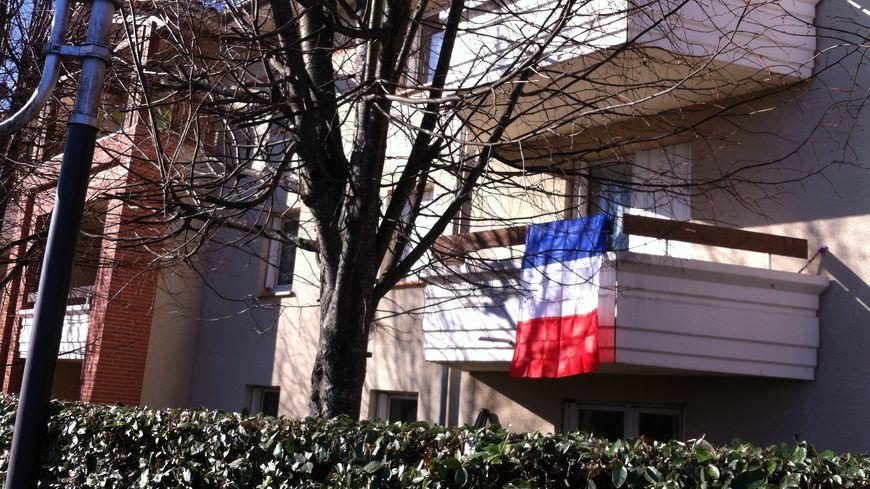 Des drapeaux bien rares (ici à Quint-Fonsegrives)