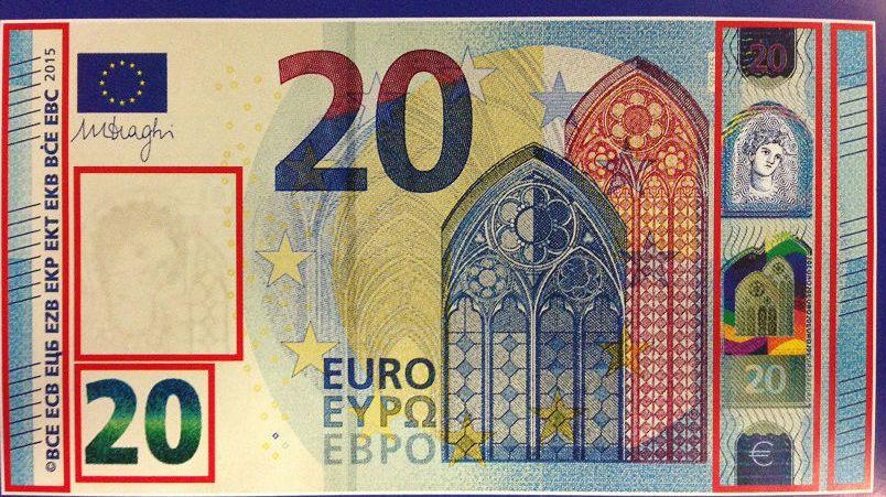 Les nouveautés du billet de  20 €