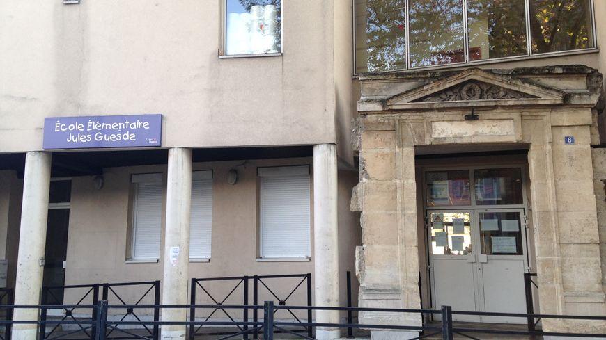 L'école Jules Guesde, rue du Corbillon à Saint-Denis