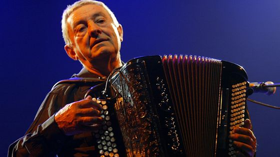 L'accordéoniste et compositeur Jean Corti (1929-2015). © MaxPPP