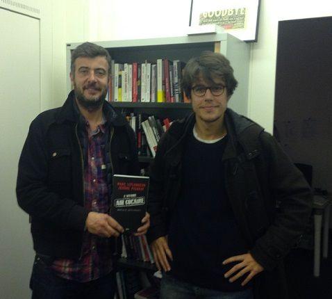 Jérôme Pierrat et Marc Leplongeon, novembre 2015