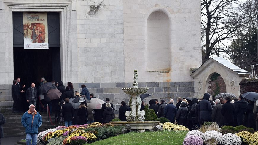 Obsèques de Sébastien Proisy, victime des attentats de Paris