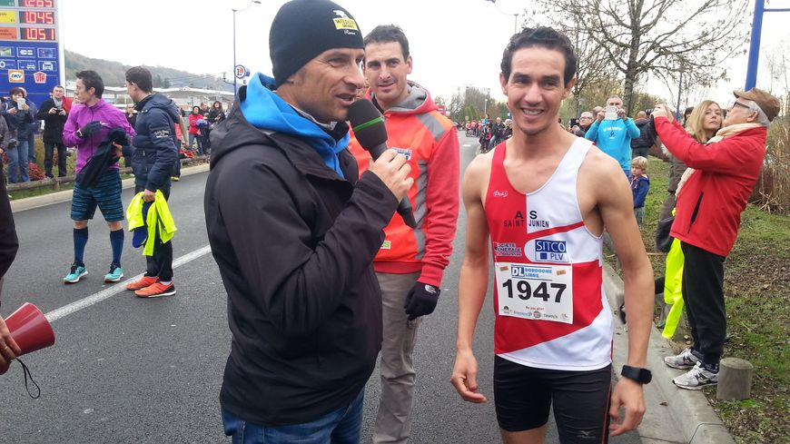Kamal Saïdi de l'AS Saint-Junien a remporté la course en 31 minutes 23 secondes.