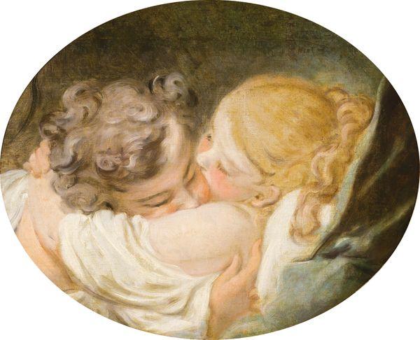 Le baiser, Jean-Honoré Fragonard