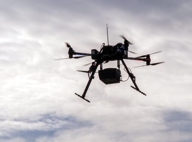 Les drones ont une signature radar équivalente à celle d'un pigeon