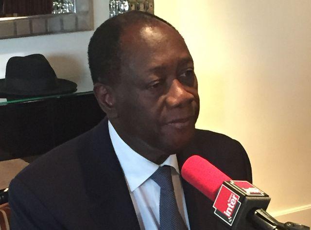Alassane Ouattara président de la Cote d'Ivoire