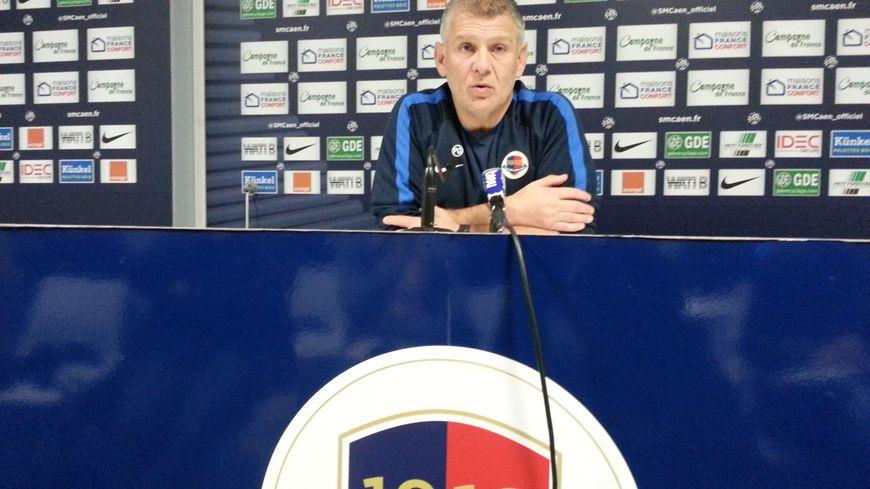 Patrice Garande, le coach du Stade Malherbe de Caen