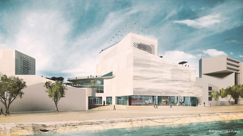 Les travaux du Musée de la Mer et de la Marine débuteront en février 2016