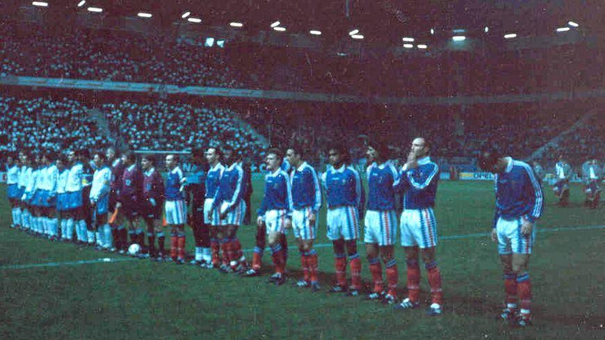 L'équipe de France future champione du monde à D'Ornano