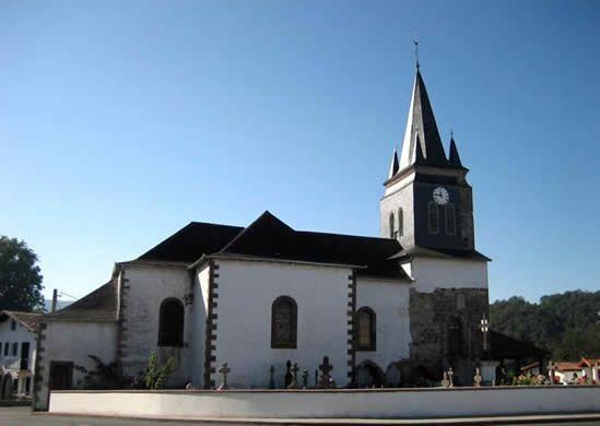 Eglise Saint Pierre d'Usakoa