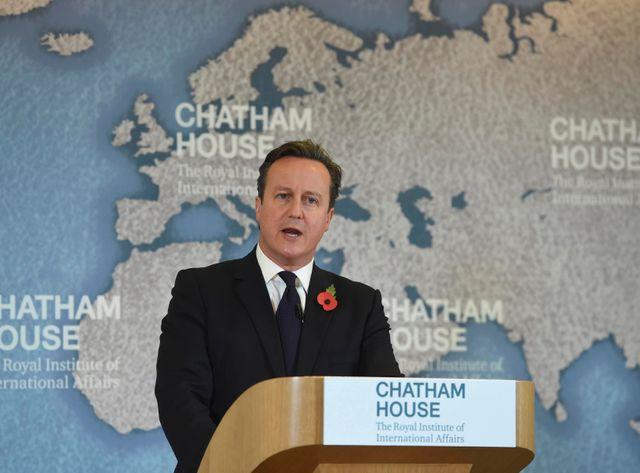 Cameron vs UE