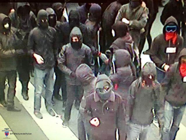 Image de video surveillance de la Préfecture de Police