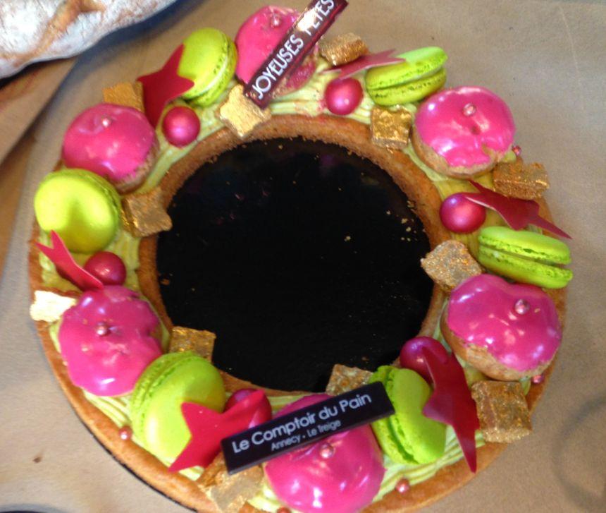 """Le gâteau """"éphémère"""" à commander pour le 31/12/2015"""
