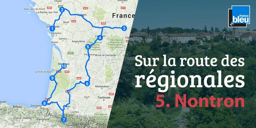 Nontron, au beau milieu du Parc Naturel Régional Périgord-Limousin.