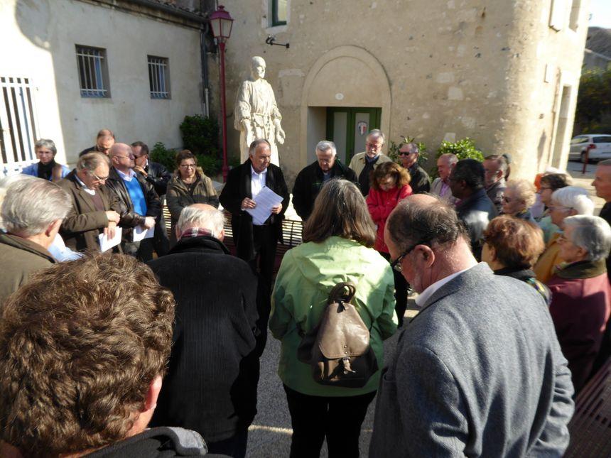 Un hommage à Charles de Foucauld avec Mgr Balsa, évêque de Viviers