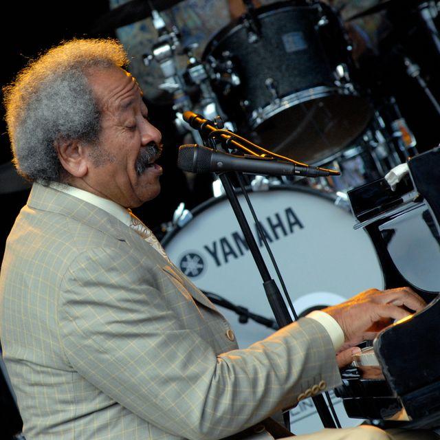 Allen Toussaint en concert à Stockholm en 2009