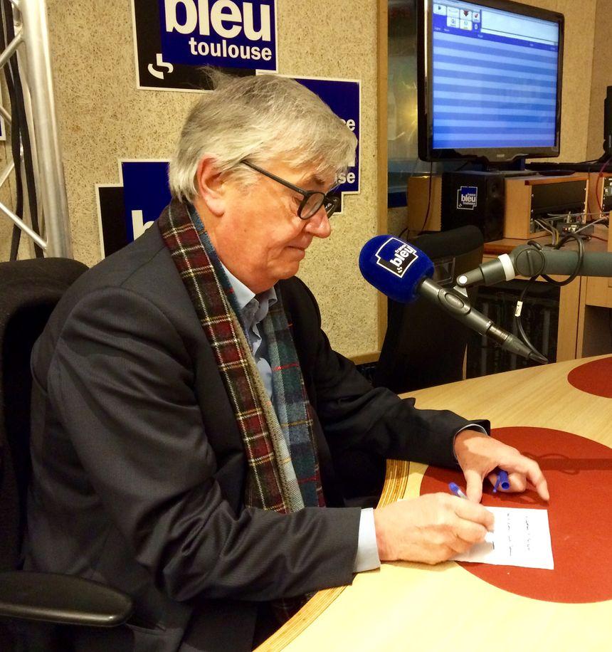 Jean-Michel Ducomte, politologue à l'IEP de Toulouse