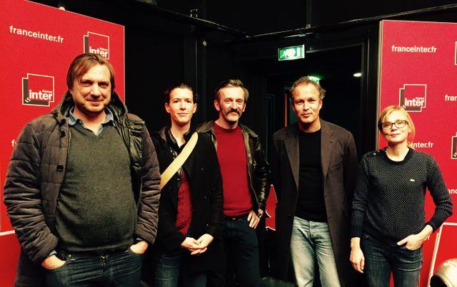 Vincent Bernière, Aude Picault, Vince, Zep et Isabelle Carré