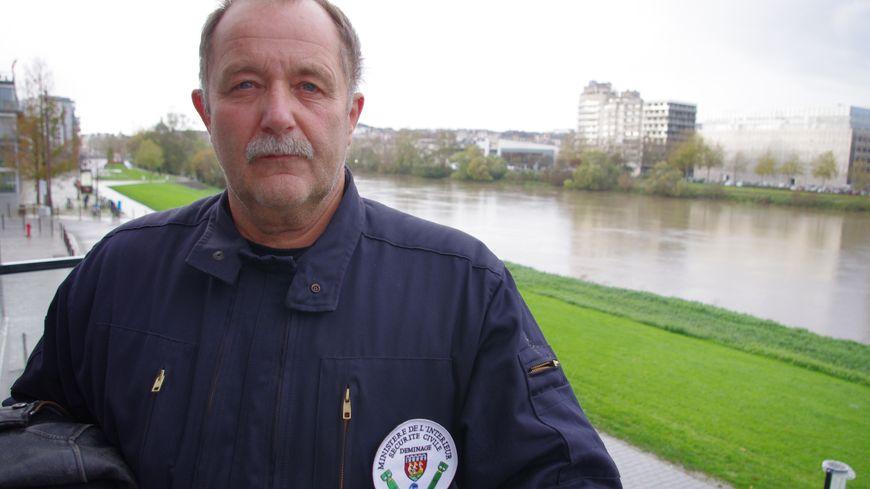 Jean-Noël Bellavoine, chef du service de déminage de Nantes